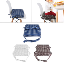 Kids Children Dining Chair Booster Cushion Baby Booster Seats Cushion Toddler Highchair Removable Adjustable Seat Pad Hot Sale pudcoco baby booster seats children booster chair cover pad baby kids dining seat soft leather cushion pad