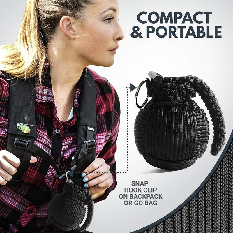 Mini Emergency Kit Survival Grenade Kit Survival Tool For Camping Hiking Hunting