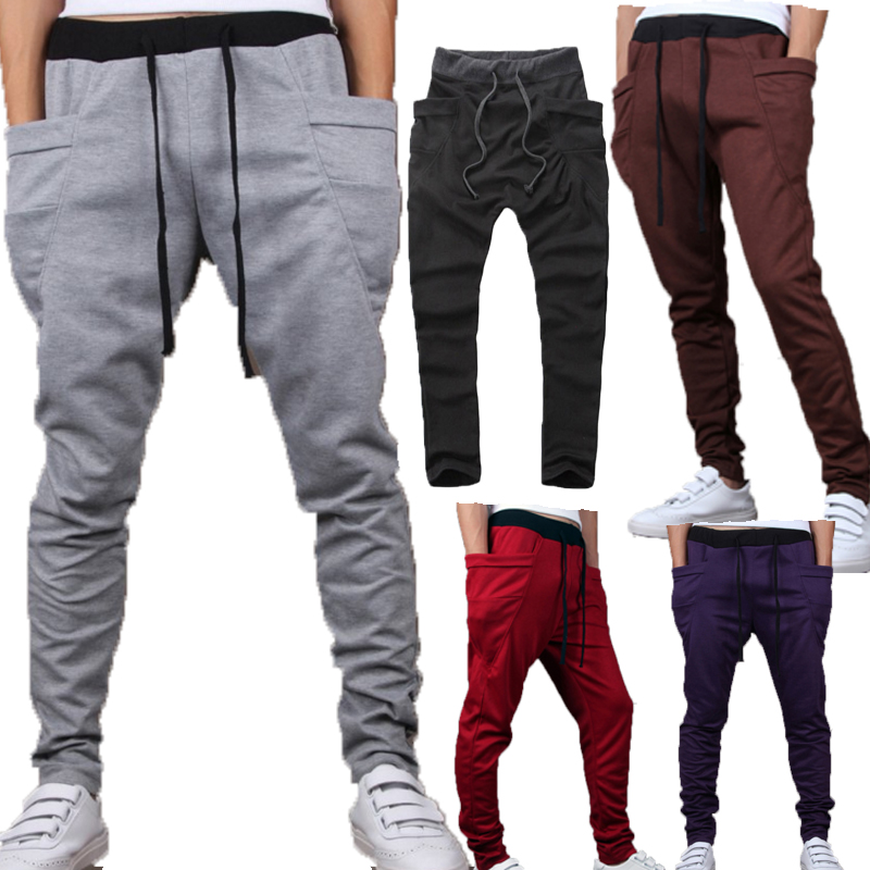 Men Pants Outwear Joggers-Top Men's Trousers Hip-Hop Casual HERE Big-Pocket Quality Unique