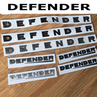 JDM Style Car Sticker For Land Rover DEFENDER Letter Emblem Tail Rear Trunk Car Styling Refitting Front Hood Lower Car Sticker