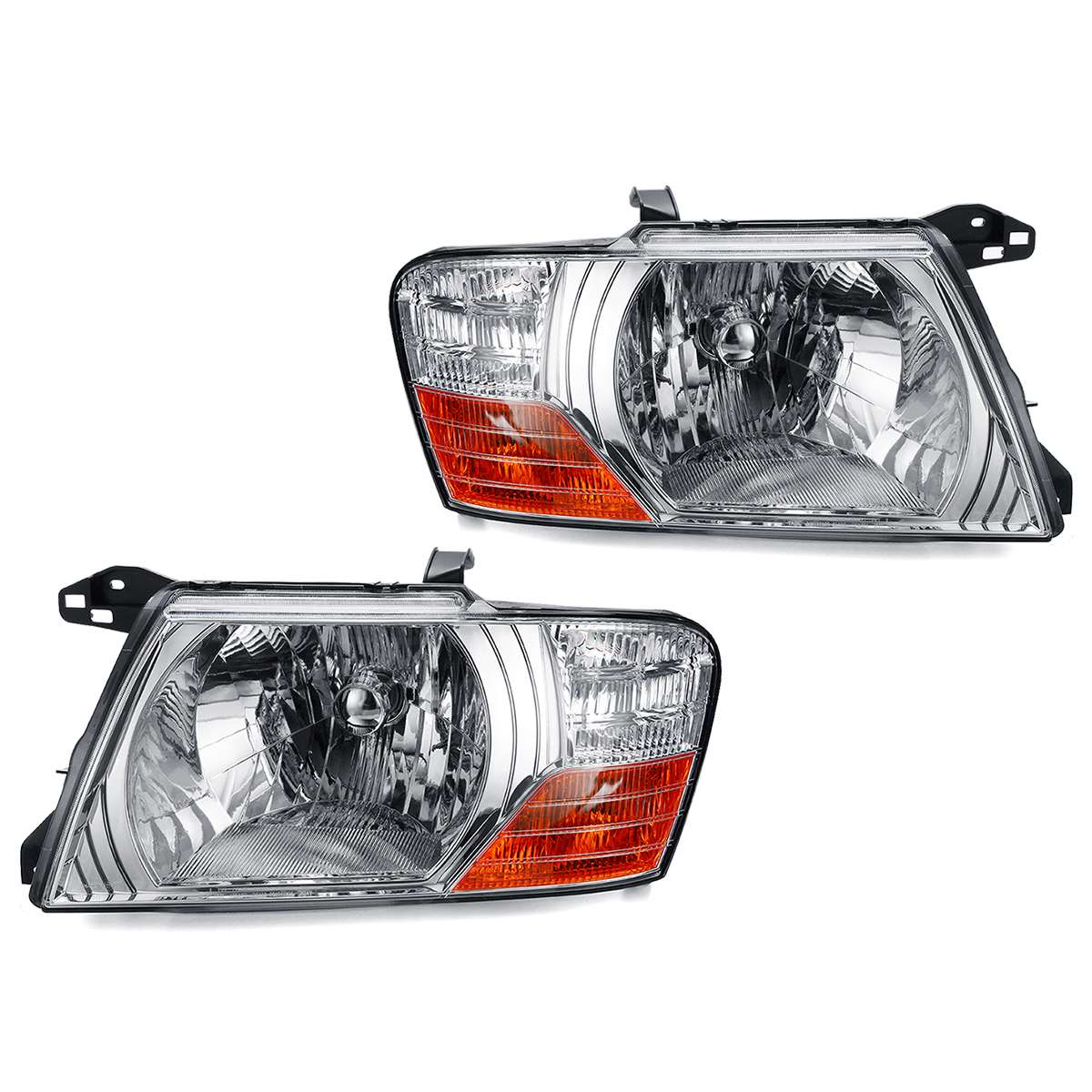 Фара комплект для освещения автомобиля для Mitsubishi Pajero Montero 2000 2001 2002 2003 2004 2005 2006 12 V аксессуары