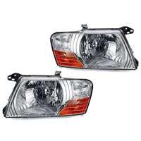 Headlight Car Light Assembly For Mitsubishi Pajero Montero 2000 2001 2002 2003 2004 2005 2006 12V Accessories