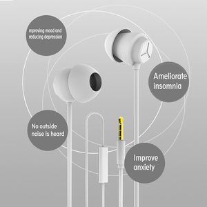 Image 3 - Sleeping หูฟังชนิดใส่ในหูซิลิโคนชุดหูฟังหูฟังพร้อมไมโครโฟน 3.5 มม.หูฟังสำหรับโทรศัพท์