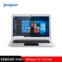 Jumper EZBOOK 3 PRO Ноутбук 13,3 дюймов ноутбуки Windows 10 Intel Apollo Lake N3450 6 ГБ ОЗУ 128 ГБ EMMC компьютер HDMI PC ips