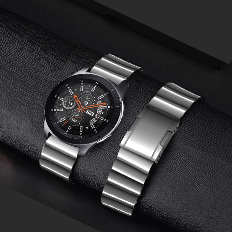 Metal Stainless Steel Watch Wrist Band Strap For Samsung Galaxy Watch Gear S3 Classic Frontier huawei watch 2 Pro huami amazfit