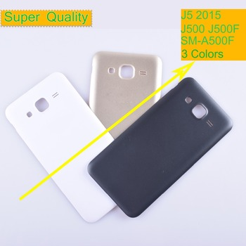 10Pcs/lot For Samsung Galaxy J5 2015 J500 J500F J500H J500M Housing Battery Cover Back Cover Case Rear Door Chassis Shell J5 for samsung galaxy j7 2016 j710 sm j710f j710fn j710m j710h j710a housing battery cover back cover case rear door chassis shell