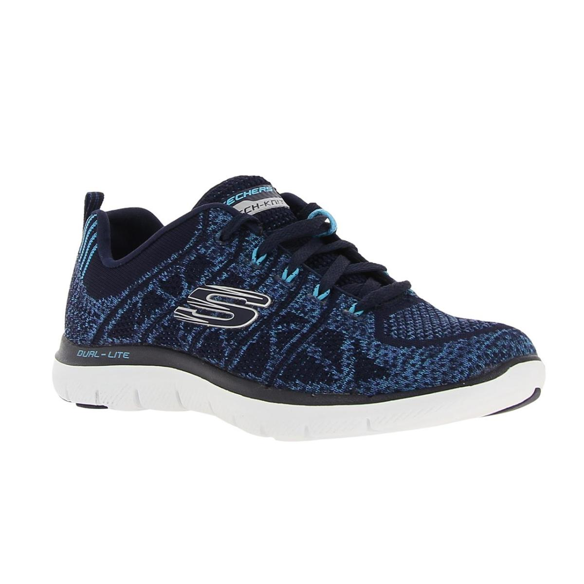 55c9f746 SKECHERS MUJER 12623 NVBL TEXTIL ZAPATOS-in Walking Shoes from ...
