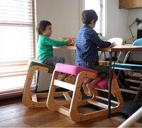 Эргономичный стул для детей, эргономичный дизайн, на коленях, дерево, современная офисная мебель, компьютерный стул