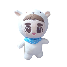 2019 Новый KPOP EXO плюшевые куклы Kyungsoo D.O. XIUMIN Детские Куклы Мягкие ручная работа фанаты Коллекция игрушек Kpop плюшевые 24 см/9″