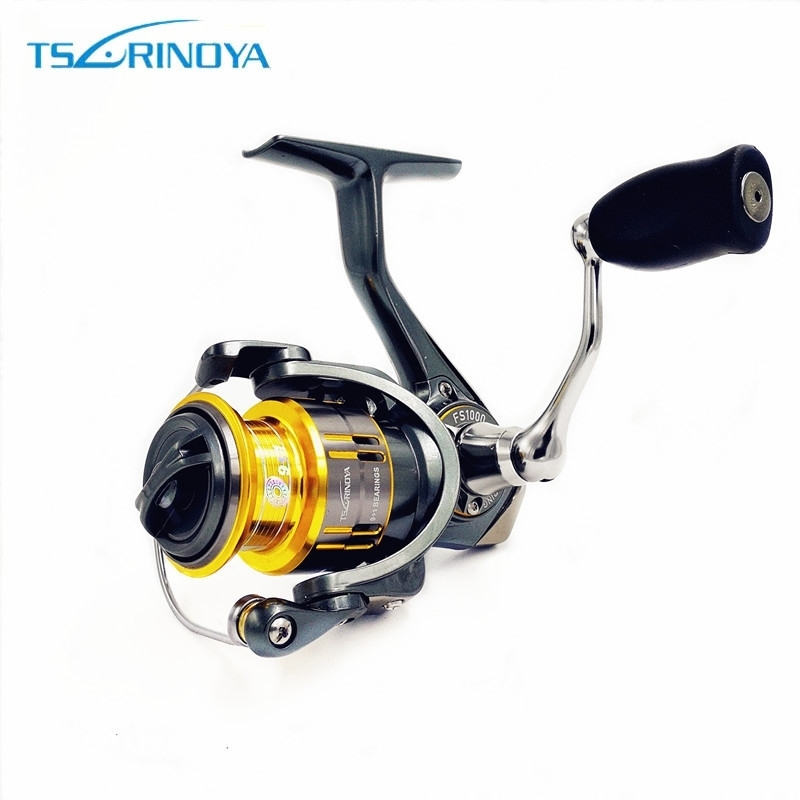 Tsurinoya FS 800 1000 2000 Ultra Light Spool Crap Pescuit Spinning Reel Momeală Surfing Apă de apă dulce Spinning Tamburi de pescuit