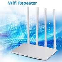 300Mbps 2.4G mini Wireless WiFi Router with Smart 4 Antennas with strong signal heat dissipation