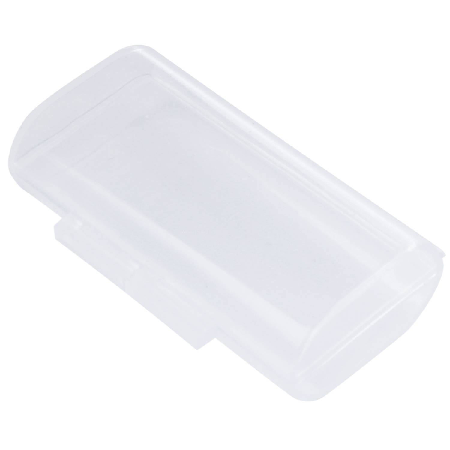 5 Pcs Clear Plastic Storage Box Case Holder For 2 X AAA Batteries