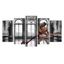 Canvas Painting Modular Picture Home Decoration Elegant ballet wall frame for Living Room Modern Printing Free Shipping Cairnsi