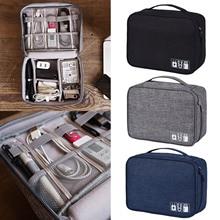 Besegad 24.5x18.5x10cm étanche sac de rangement étui organisateur pochette coquille pour lélectronique numérique voyage daffaires voyage vente chaude