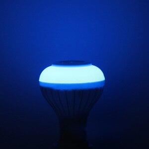 Image 4 - E27 สมาร์ท RGB RGBW ลำโพงบลูทูธไร้สายหลอดไฟ 220V 12 วัตต์หลอดไฟ LED เครื่องเล่นเพลง Dimmable เสียง 24 ปุ่มรีโมทคอนโทรล