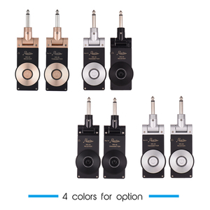 Image 2 - Rowin WS 20 2.4G אלחוטי חשמלי גיטרה משדר מקלט סט 30 מטרים שידור טווח עם USB טעינת כבל 4 צבעים