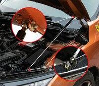 Car Hood Support Hydraulic rod Lift Strut Spring Shock Bars For honda civic 2017 For honda civic 2006 2011 Car styling