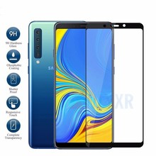 2Pcs/Lot Case for Samsung Galaxy A7 2018 A750 SM-A750F Protective Glass On the Samsun  A 7 A72018 Full Cover Film 9H