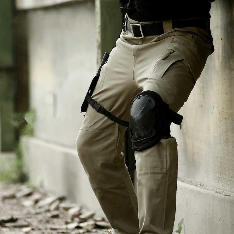 Ix9(ii) мужские тактические брюки-карго Tad Militar, армейские тренировочные военные брюки, спортивные брюки для походов, охоты