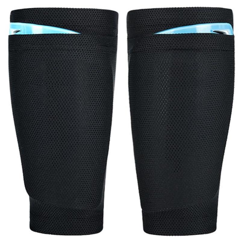 Breathable Men's Shin Pad Holder Socks Lock Sleeves For Leg Guard Board Soccer