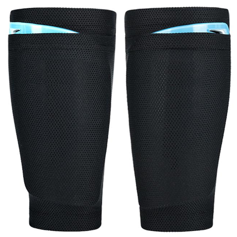 1Pair Breathable Women Men's Shin Pad Holder Socks Lock Sleeves For Leg Guard Board Soccer Protection Holder