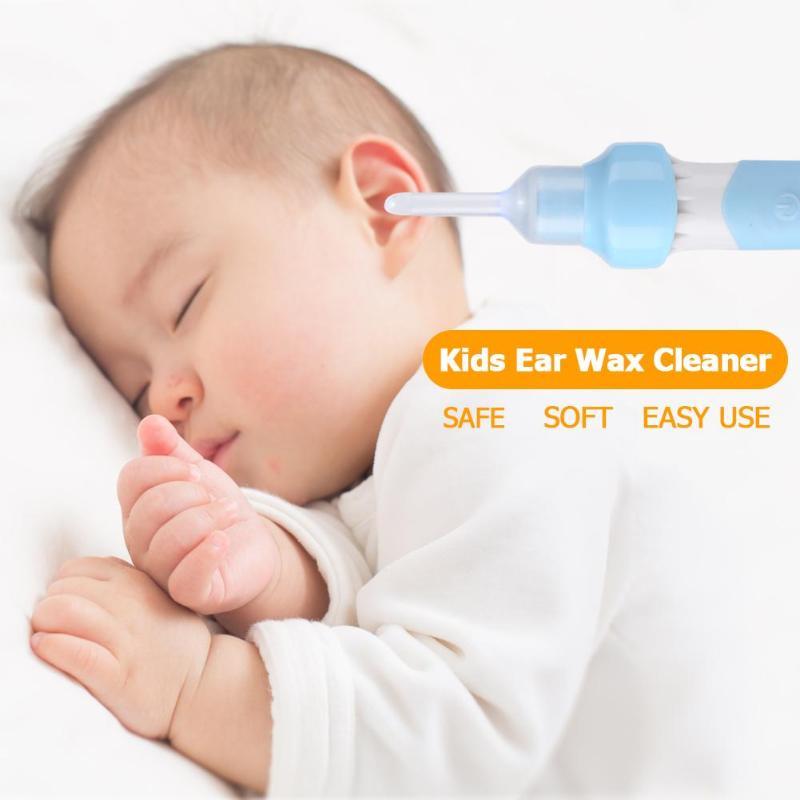 1 Set Elektrische Ohr Wachs Reiniger Sicherheit Vakuum Wachs Entfernung Kid Ohr Pflege Werkzeug Baby Pflege Zubehör Sicherheit Werkzeug Für Infant Baby Kinder Ein Unverzichtbares SouveräNes Heilmittel FüR Zuhause