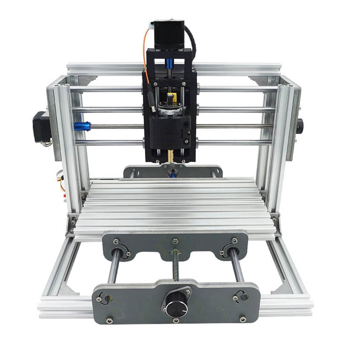 3 axes 2017 T CNC routeur graveur Machine de gravure bureau sculpture Cutter kit de bricolage DC 12 V 60 W 6000 tr/min bois routeur Cutter imprimante