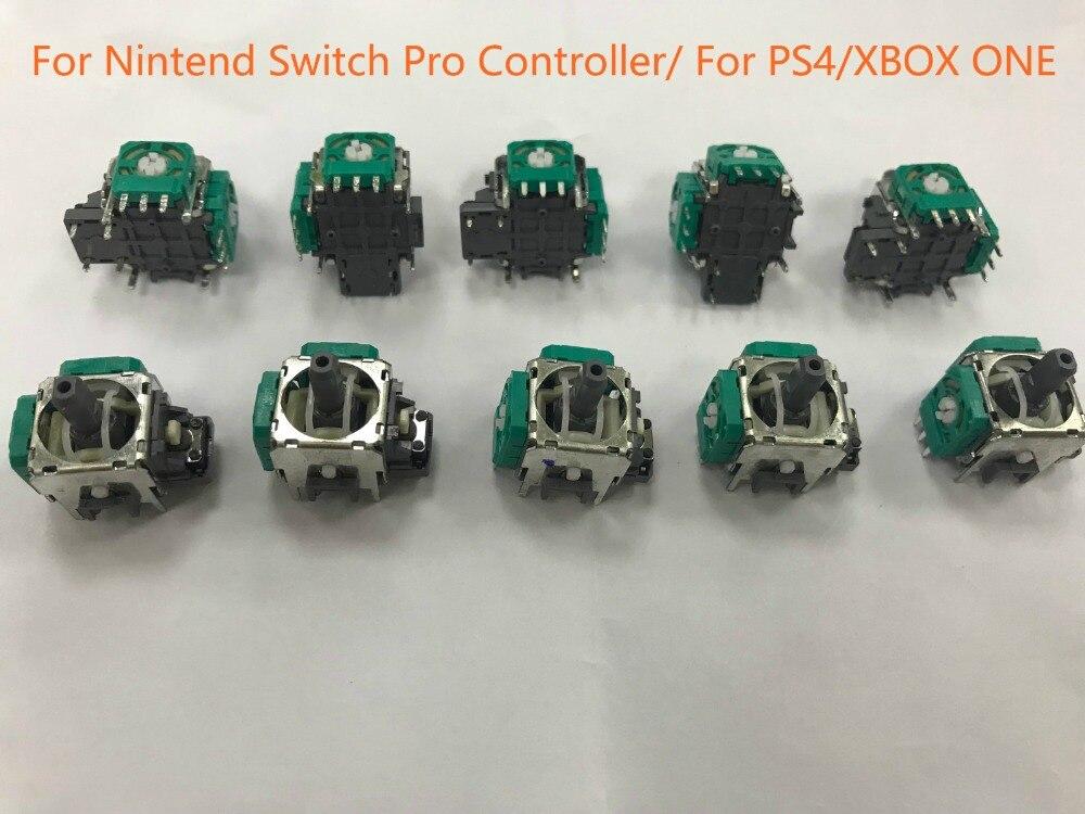 Steuerknüppel Warnen 50 Pcs Alps 3d Analog Joystick Thumb-stick Joystick Sensor Modul Für Nintend Schalter Ns Pro Controller Joypad Ersatz Teil Hochglanzpoliert Videospiele