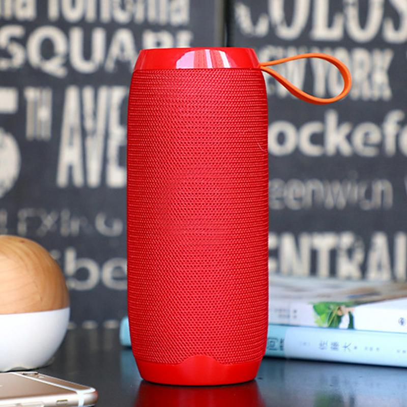 Image 4 - Wireless Bluetooth Speaker  Waterproof column Stereo Subwoofer loudspeaker portable Speaker+Mic Bass FM Radio MP3 Sound Box-in Portable Speakers from Consumer Electronics