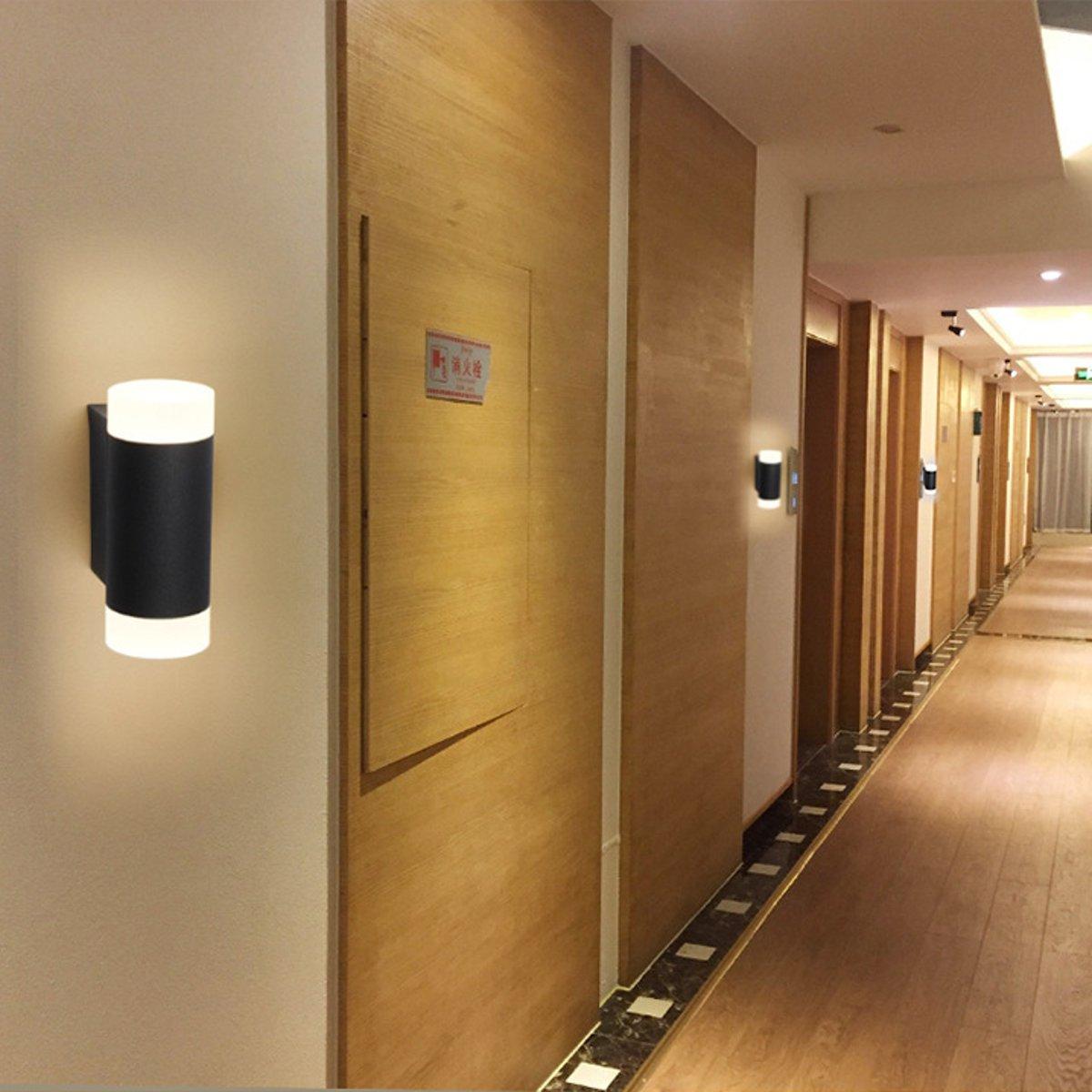 Koop W Led Lamp Outdoor Wandlamp Up Verlichting Beste 6 Down OnvmN80w