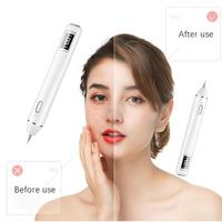 facial cleaner tool LCD display screen Laser Plasma Pen Freckle Tattoo Removal Skin Care Cleaner 2019 gift box for women