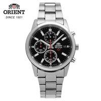 Часы для мужчин, Лидирующий бренд, роскошные мужские стальные водонепроницаемые хронограф, кварцевые наручные часы, мужские часы saat