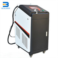 Handheld Laser Cleaning machine Mobile Laser Cleaner Metal factory supply price