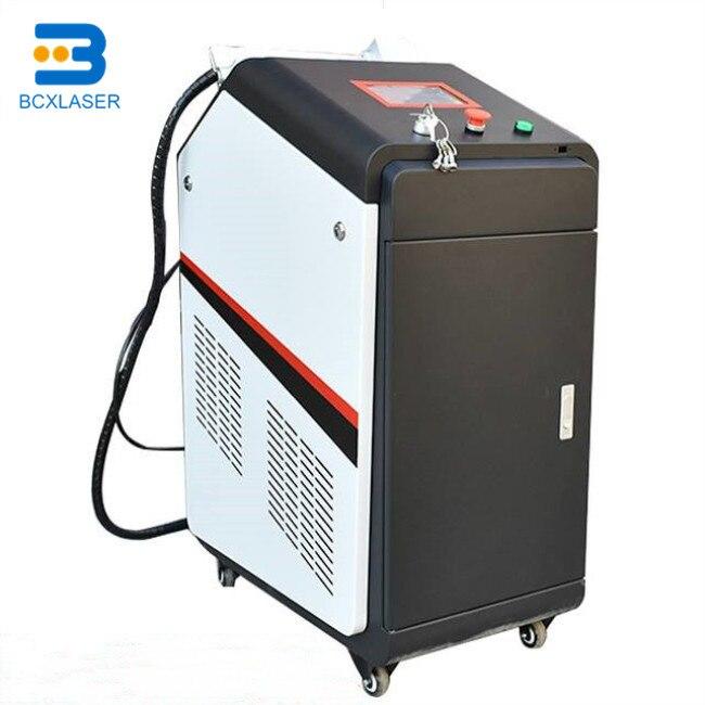 Máquina de limpieza láser portátil limpiador láser móvil Precio de suministro de fábrica de Metal