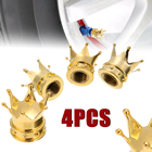 4pcs Crown Aluminum ...