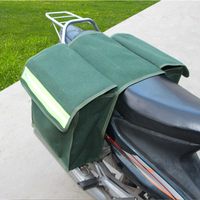 1pair Universal Motorcycle Saddle Bags Luggage Pannier Simple canvas Helmet Tank Bags
