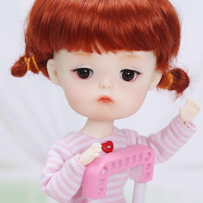 Mong Secretdoll BJD SD Doll 1/8 Open or Sleeping Head Body Model Baby Girls Boys Toys Shop Resin Figures Educational Doll
