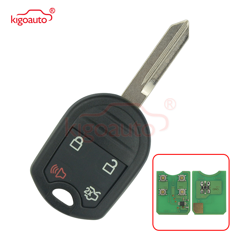 Set of 2 Key fits Ford Edge Escape Expedition Explorer F150 Flex Ranger Windstar Fob Keyless Entry Remote Guaranteed to Work OUCD6000022