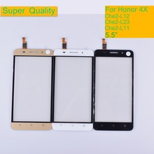 10Pcs/lot For Huawei Honor 4X Che2-L12 Che2-L23 Che2-L11 Che1-L04 Touch Screen Touch Panel Sensor Digitizer Front Glass Lens