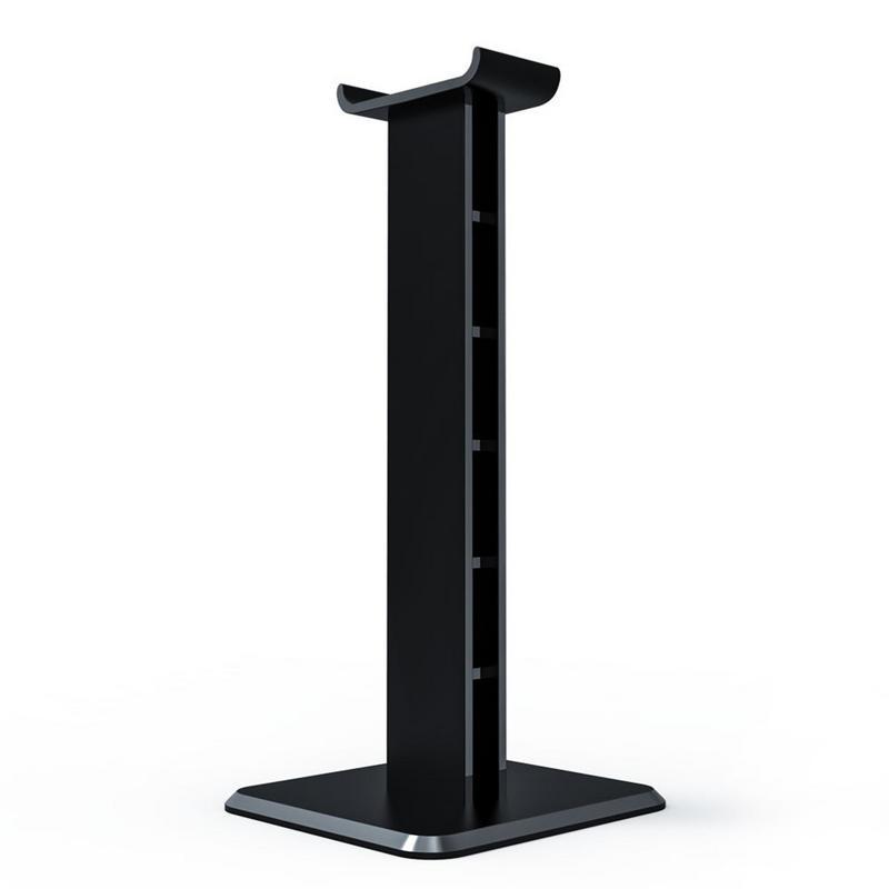 Headphone Holder Head Mounted Hook Display Shelf Desktop Stand Headphone Bracket Hanger Black White Earphone Stand Holder