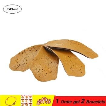 e2e3c559 3/4 media soporte de arco ortopédicos plantillas pie plano correcto 3/4  longitud plantilla ortopédica pies salud ortopédicas insertar zapatos