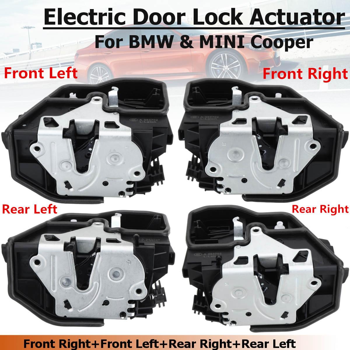 Energía Eléctrica Actuador de pestillo de bloqueo de puerta para BMW X6 E60 E70 E90 OEM 51217202143, 51217202146, 51227202147, 51227202148