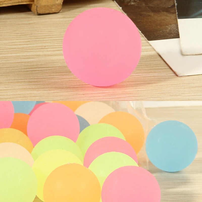 Световой лунный свет подарок на день рождения мяч с высоким отскоком наполнители для пиньяты детские игрушки 10 шт Серебристое свечение в темноте