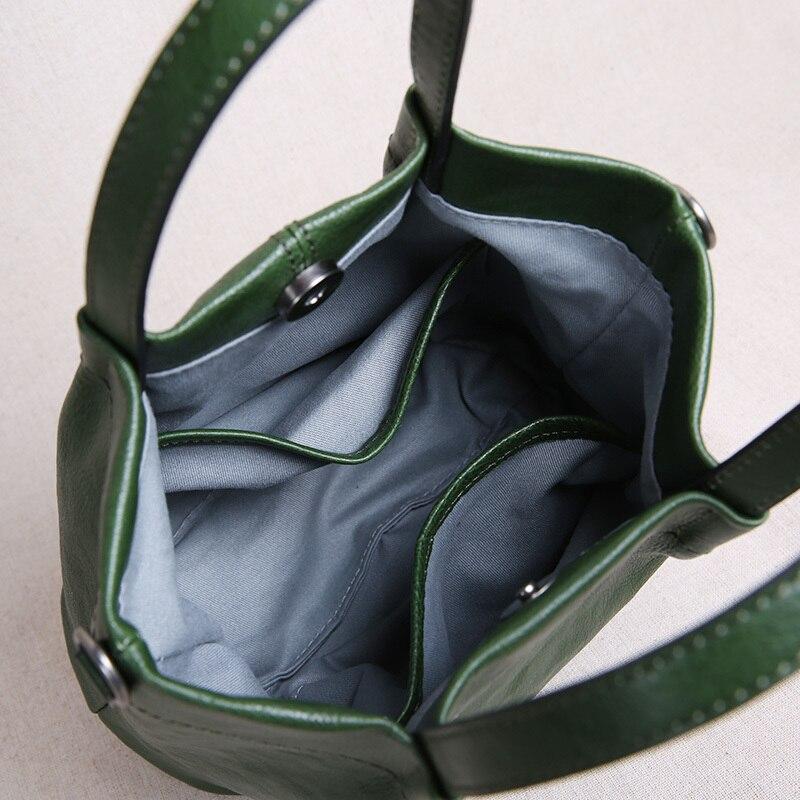Mini Doux Décontracté Main La Black En Rangement green Littéraire Original tout Petit Rétro De À Fourre Sac Cuir Printemps 2019 1 xSUq6w
