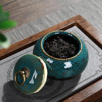 Contenedores de té Vintage Estilo de China cajas de almacenamiento de cerámica,...