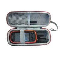 ICKOY sert EVA seyahat taşınabilir siyah kılıf için GPS Garmin Alpha 100 Alpha100 aksesuarları