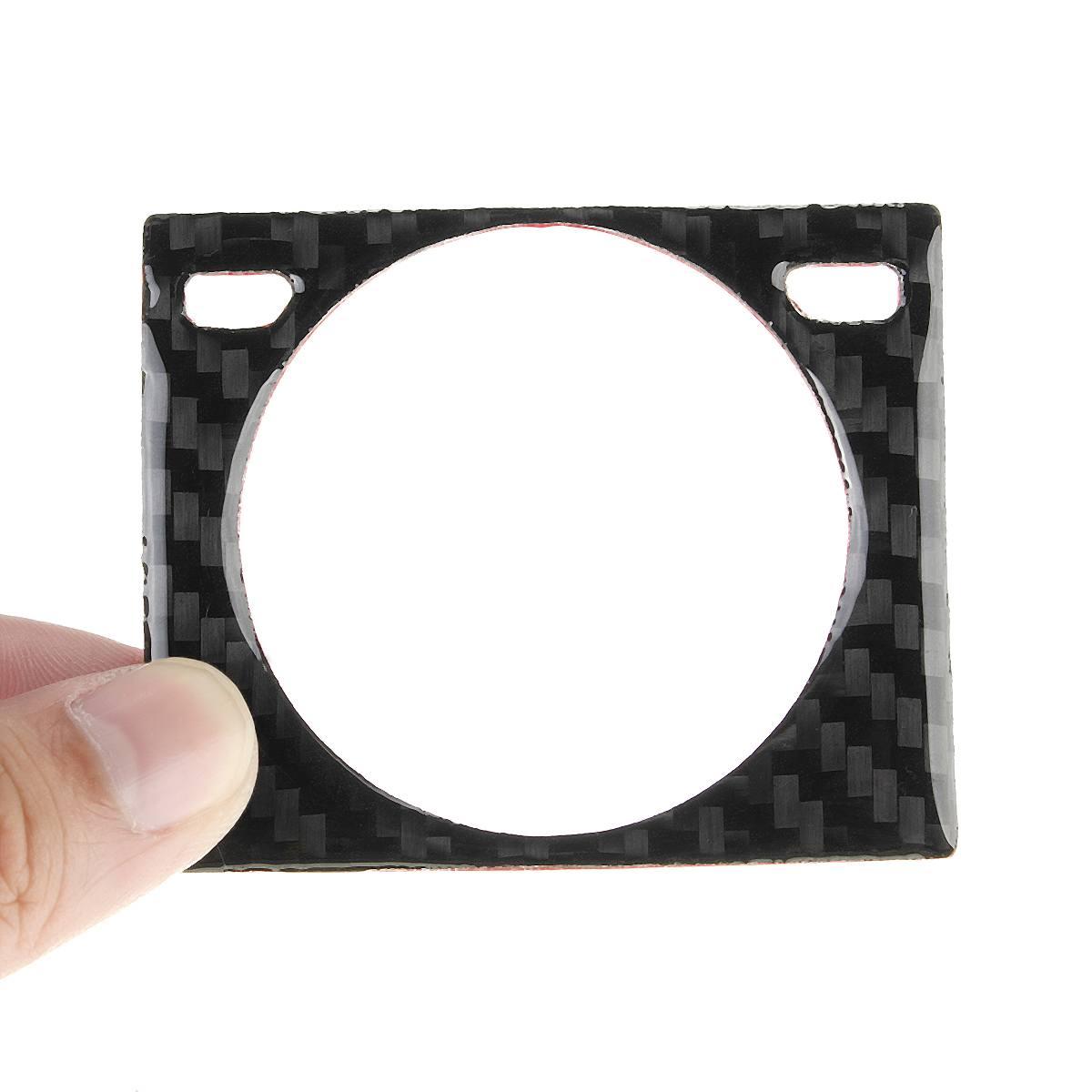 For LEXUS IS250//300//350//200T 14-18 Carbon Fiber Center Console Clock Frame Trim