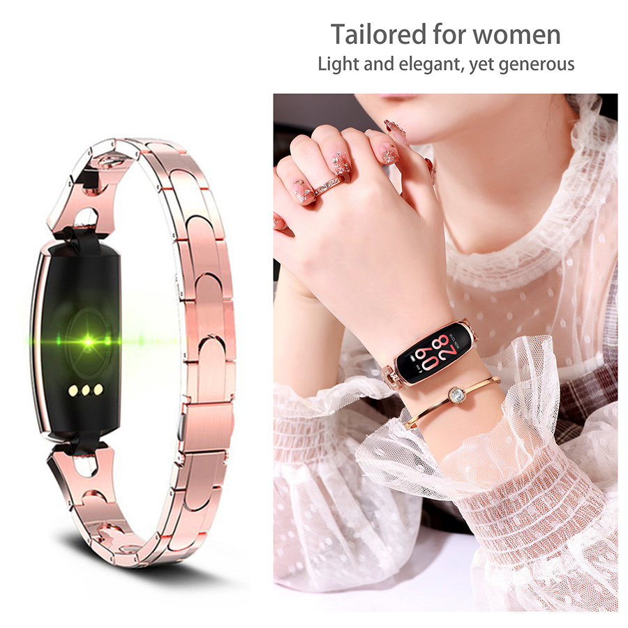 Blood Pressure Monitor Heart Rate Pressure Measuring Smart Watch Waterproof smart bracelet Digital Tensiometer Gift for GirlBlood Pressure Monitor Heart Rate Pressure Measuring Smart Watch Waterproof smart bracelet Digital Tensiometer Gift for Girl