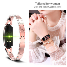 Blood Pressure Monitor Heart Rate Measuring Smart Watch Waterproof smart bracelet Digital Tensiometer Gift for Girl