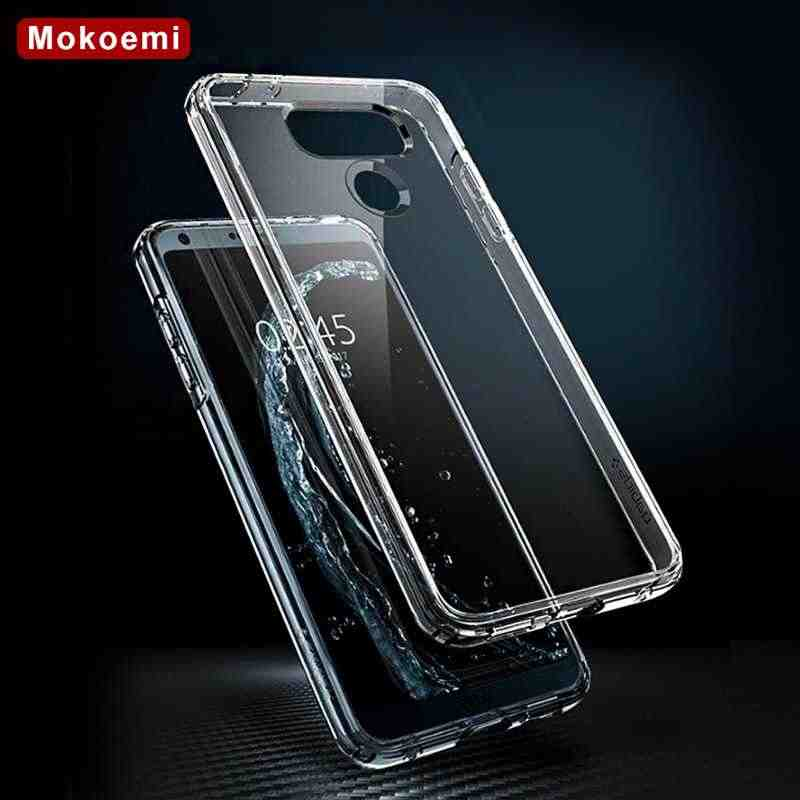 "Mokoemi Ultra Thin Slim Clear Transparent Soft TPU 5.7""For LG G6 Case For LG G6 Cell Phone Case Cover"